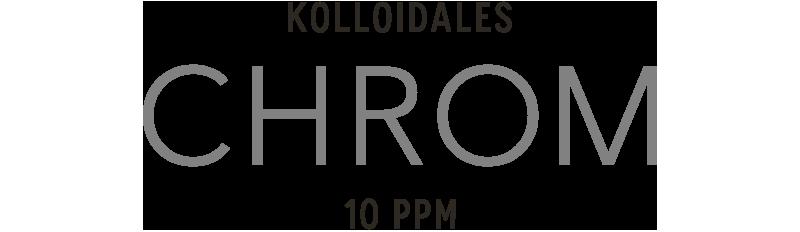 Kolloidales Chrom hergestellt im Hochvolt-Plasmaverfahren