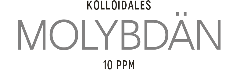 Kolloidales Molybdän im Hochvolt Plasmaverfahren hegestellt