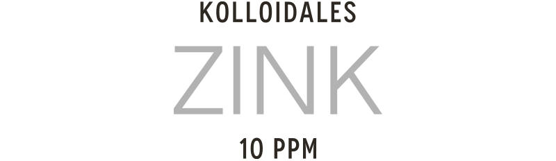 Kolloidales Zink hergestellt im Hochvolt-Plasmaverfahren