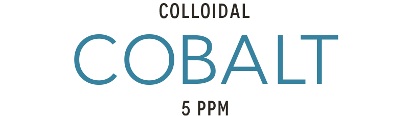 Colloidal cobalt 5ppm produced with high-voltage plasma process